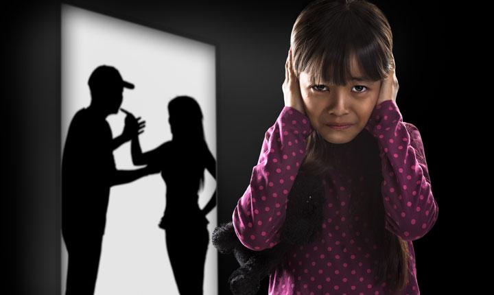 تاثیر خیانت بر فرزندان