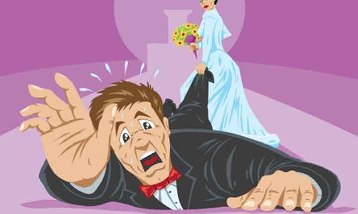 ترس مردان از ازدواج